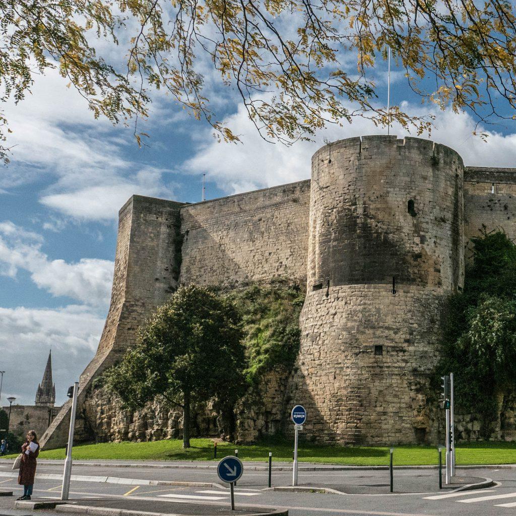 weekend calvados Château de Caen