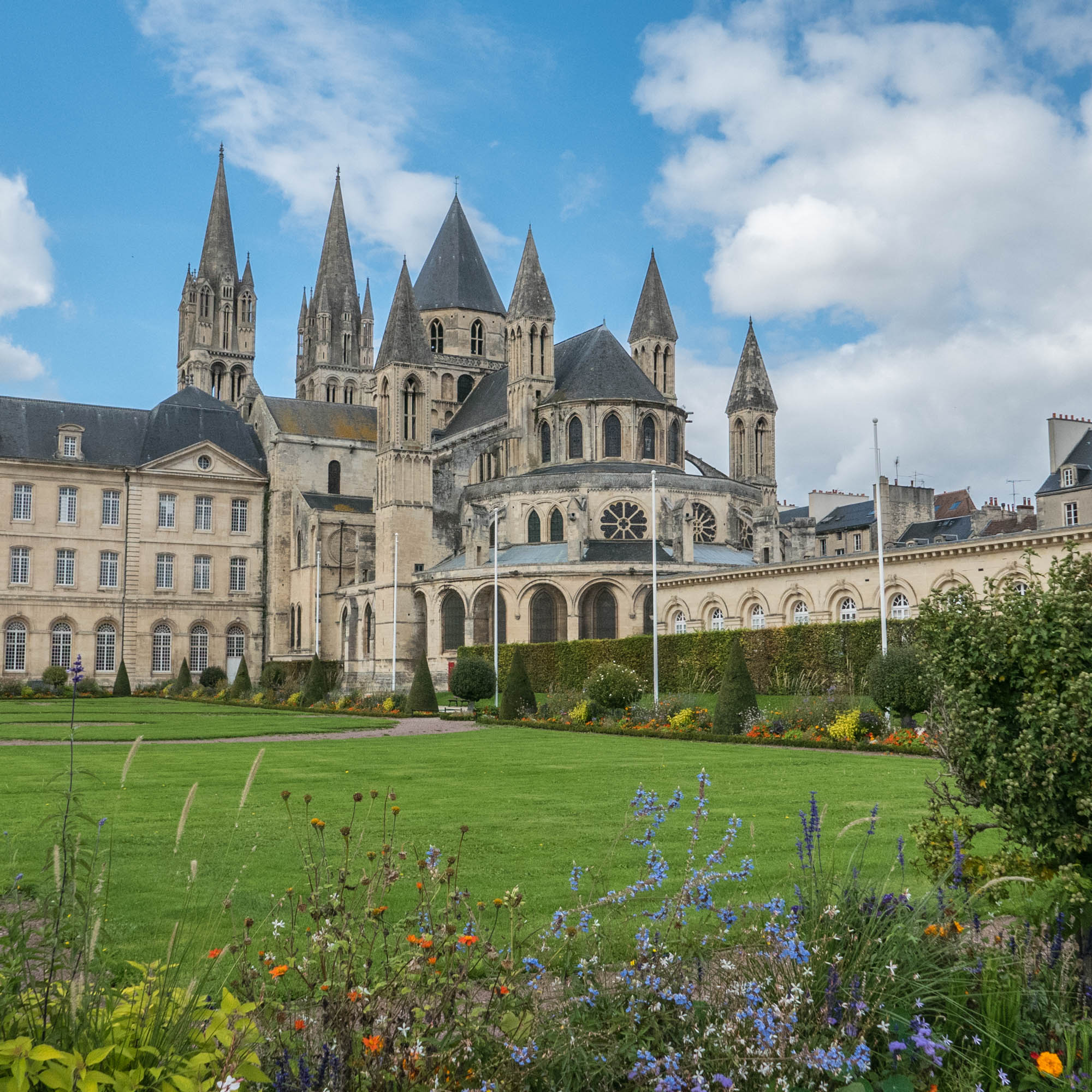 weekend calvados Abbaye aux Hommes