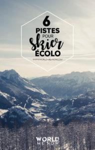 PINTEREST skier écolo