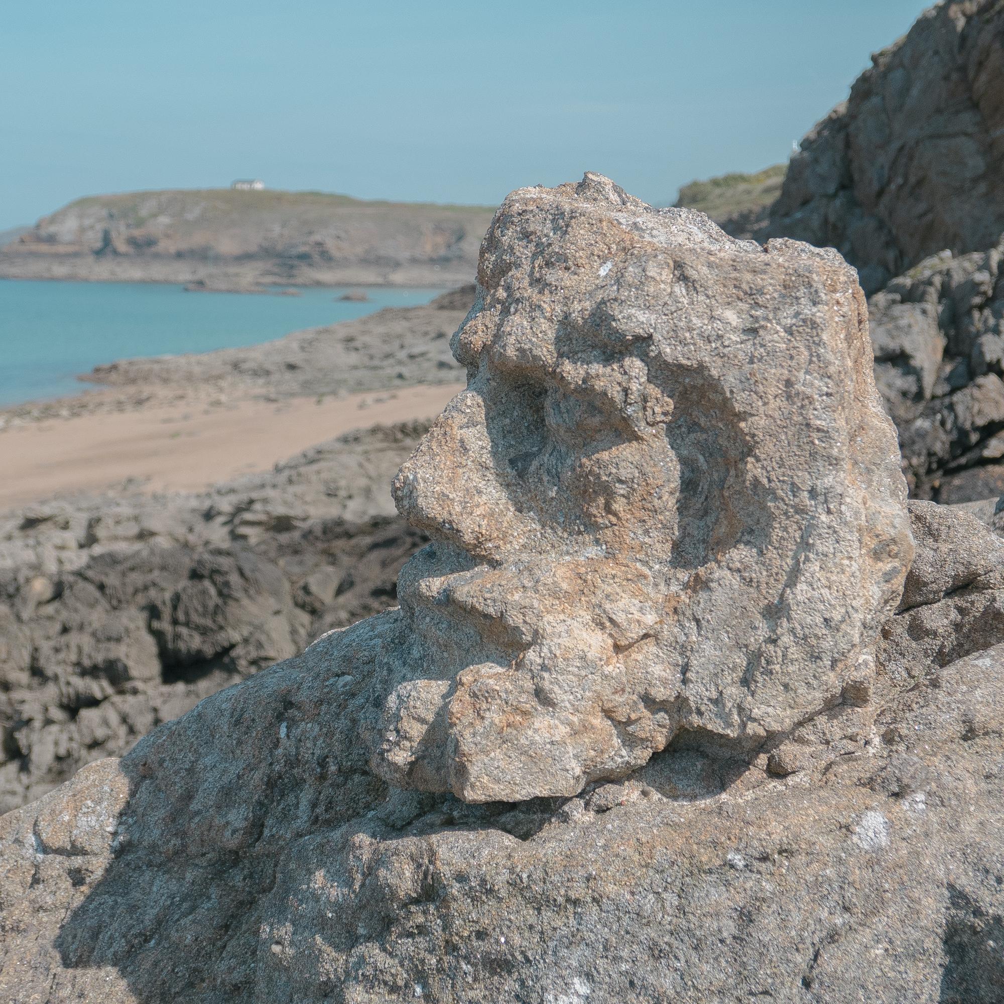 Saint Malo Bretagne rochers sculptés Abbé Fouré