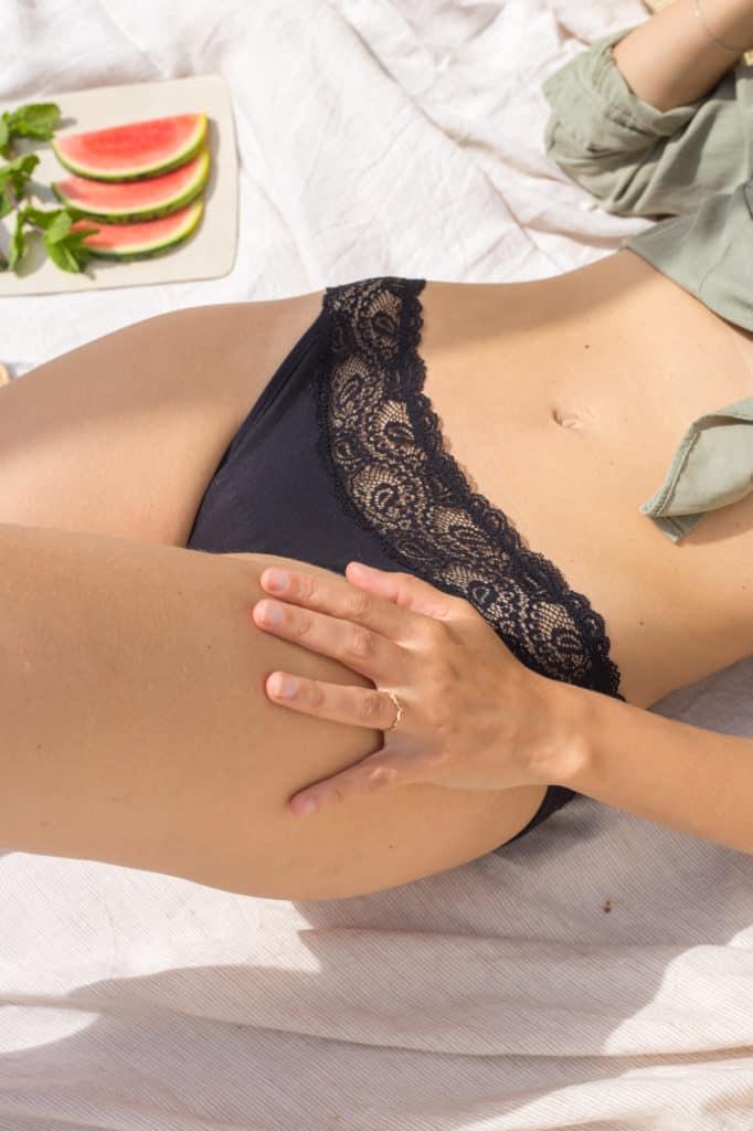 Pourprées culottes menstruelles françaises coton bio idées cadeaux