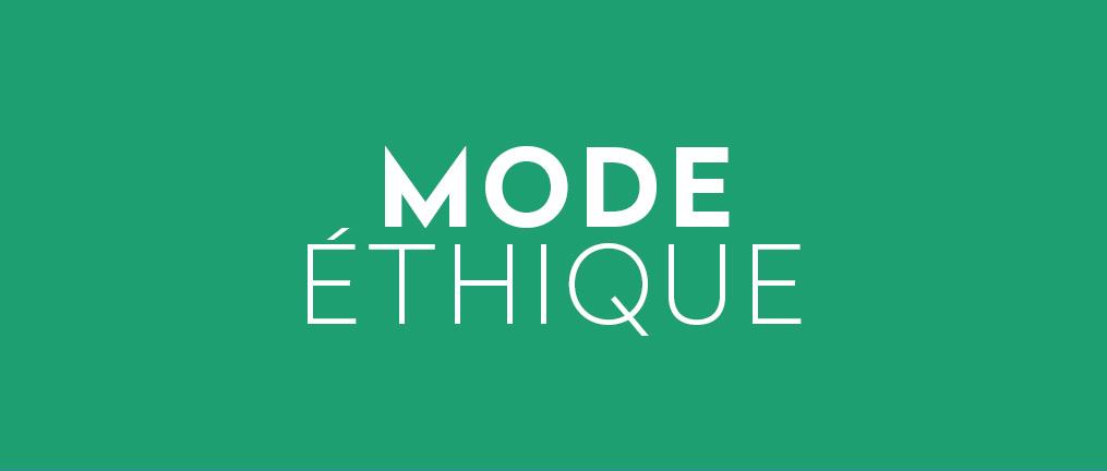 mode éthique éco responsable engagée