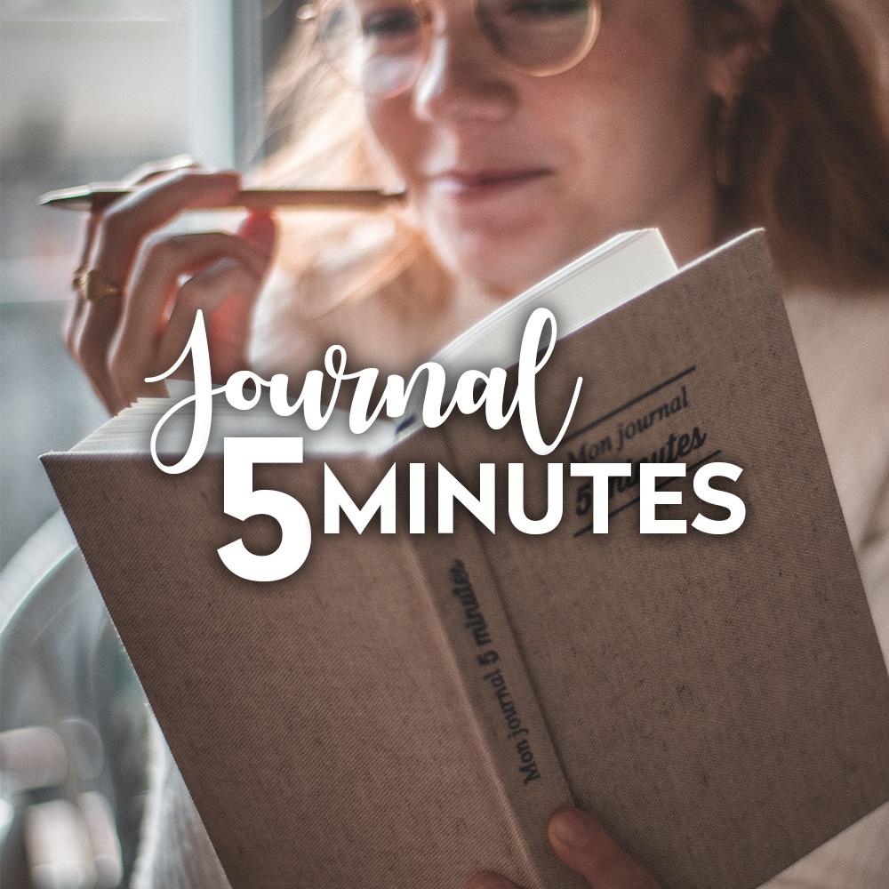 journal 5 minutes journal de gratitude