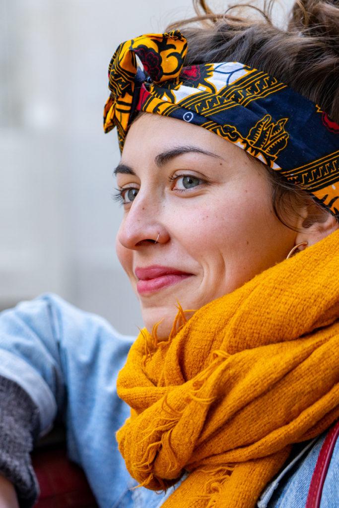 Atelier Moea headbands éthnique fabriqués en France à la main éthiques solidaires tissus chinés autour du monde
