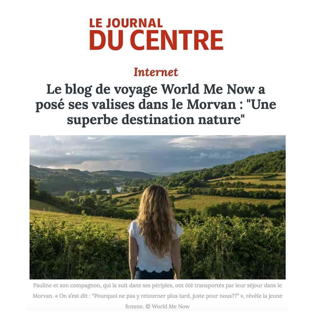 article journal du centre morvan world me now