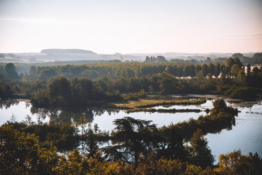 Vallée de Somme belvédère Sainte Colette étangs marais panorama somme