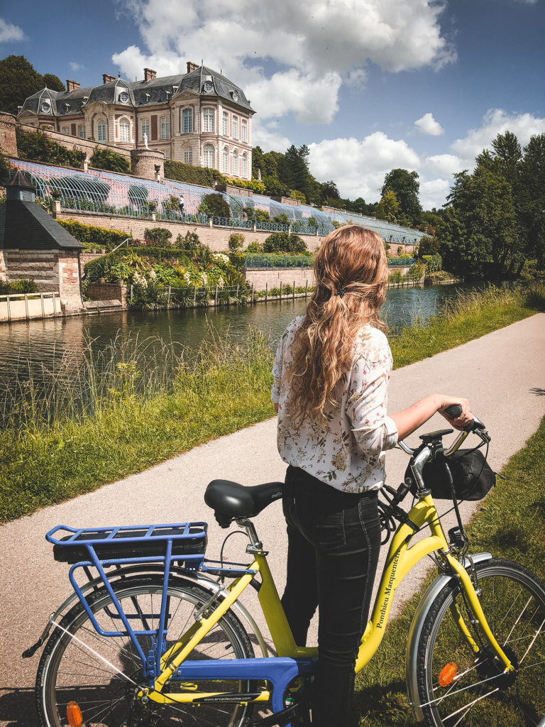 Vallée de Somme vélo électrique maison éclusière de long