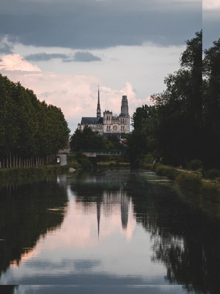 Vallée de Somme Amiens cathédrale fleuve la somme P1855012