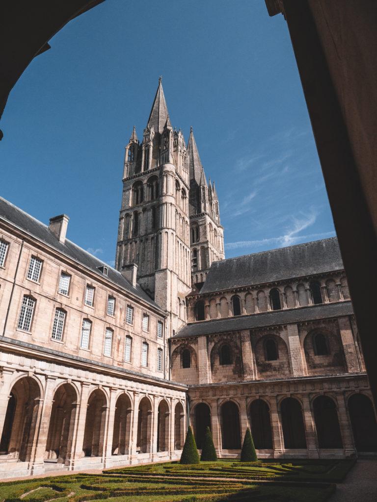 abbaye aux hommes weekend à Caen en train depuis Paris