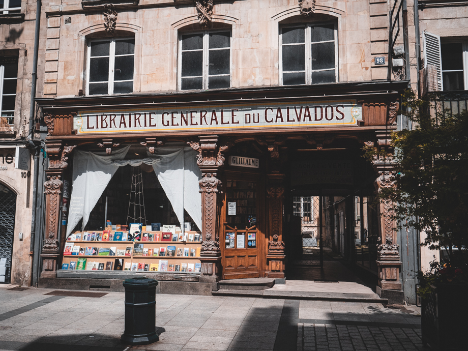 librairie caen